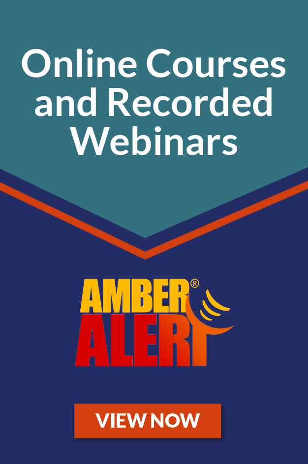 AMBER Alert Online Courses and Recorded Webinars