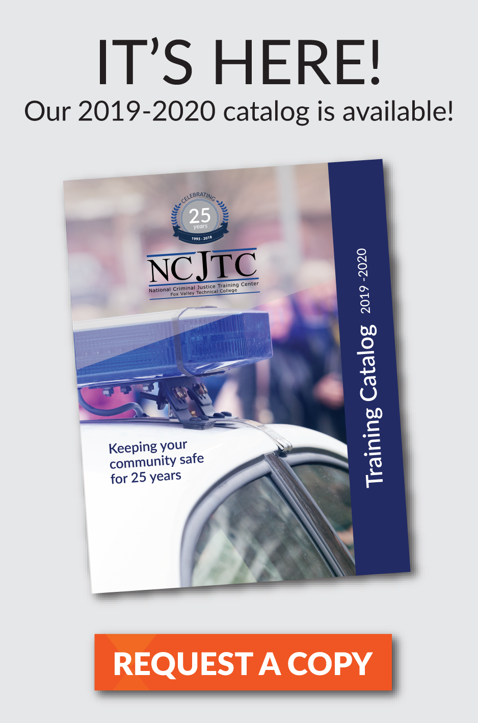 2019 - 2020 NCJTC Training Catalog