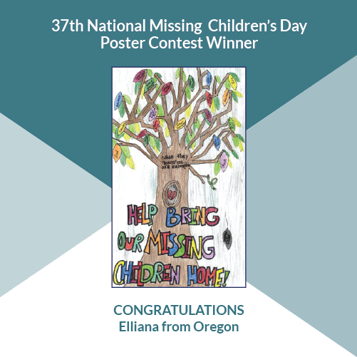 37th Annual National Missing Children's Day image