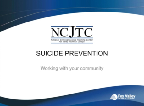 Suicide Prevention: Working with Your Community
