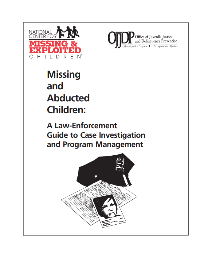 A Law Enforcement Guide to Case Investigation and Program Management