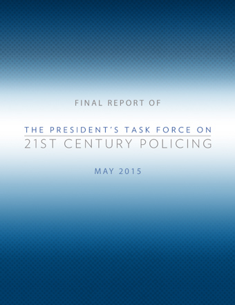 Discussions on the President's Task Force on 21st Century Policing