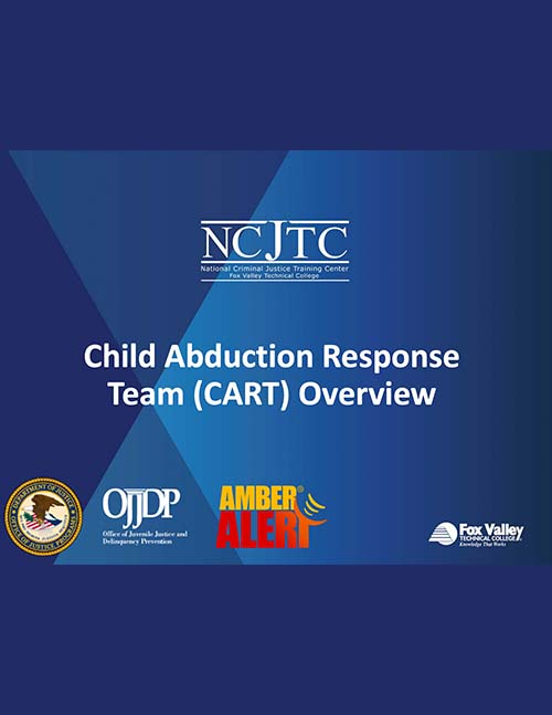 Child Abduction Response Team Webinar Presentation