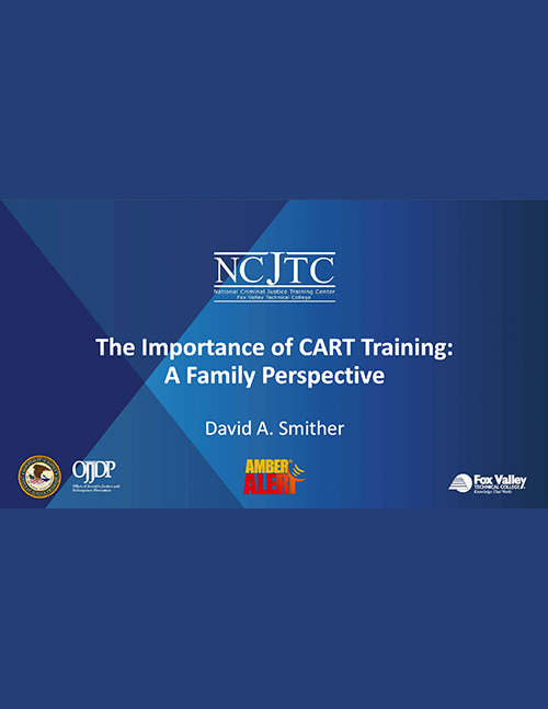The Importance of CART Training: Presentation