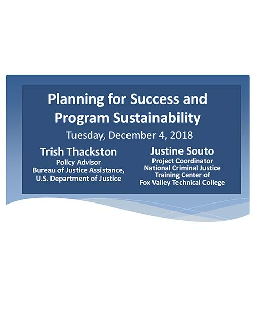 2018 CTAS Success Sustainability