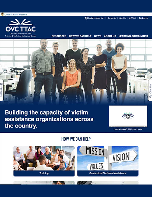 OVC Training and Technical Assistance Center (TTAC)