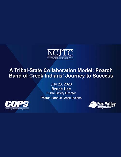 A Tribal-State Collaboration Model_ Poarch Band of Creek Indians' Journey to Success Presentation