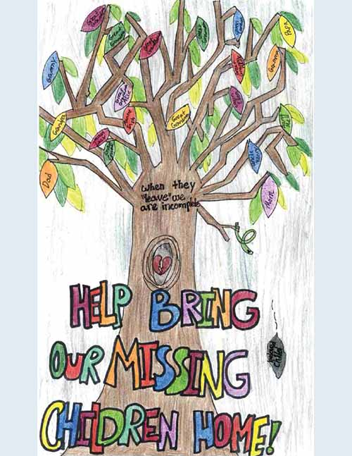 Missing Children's Day 2020 Poster Submissions