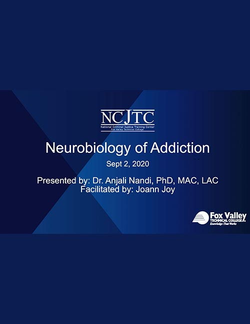 Introduction to Neurobiology of Addiction Presentation