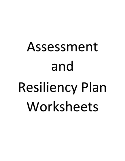 Vicarious Trauma in Tribal Organizations - Resiliency Worksheet