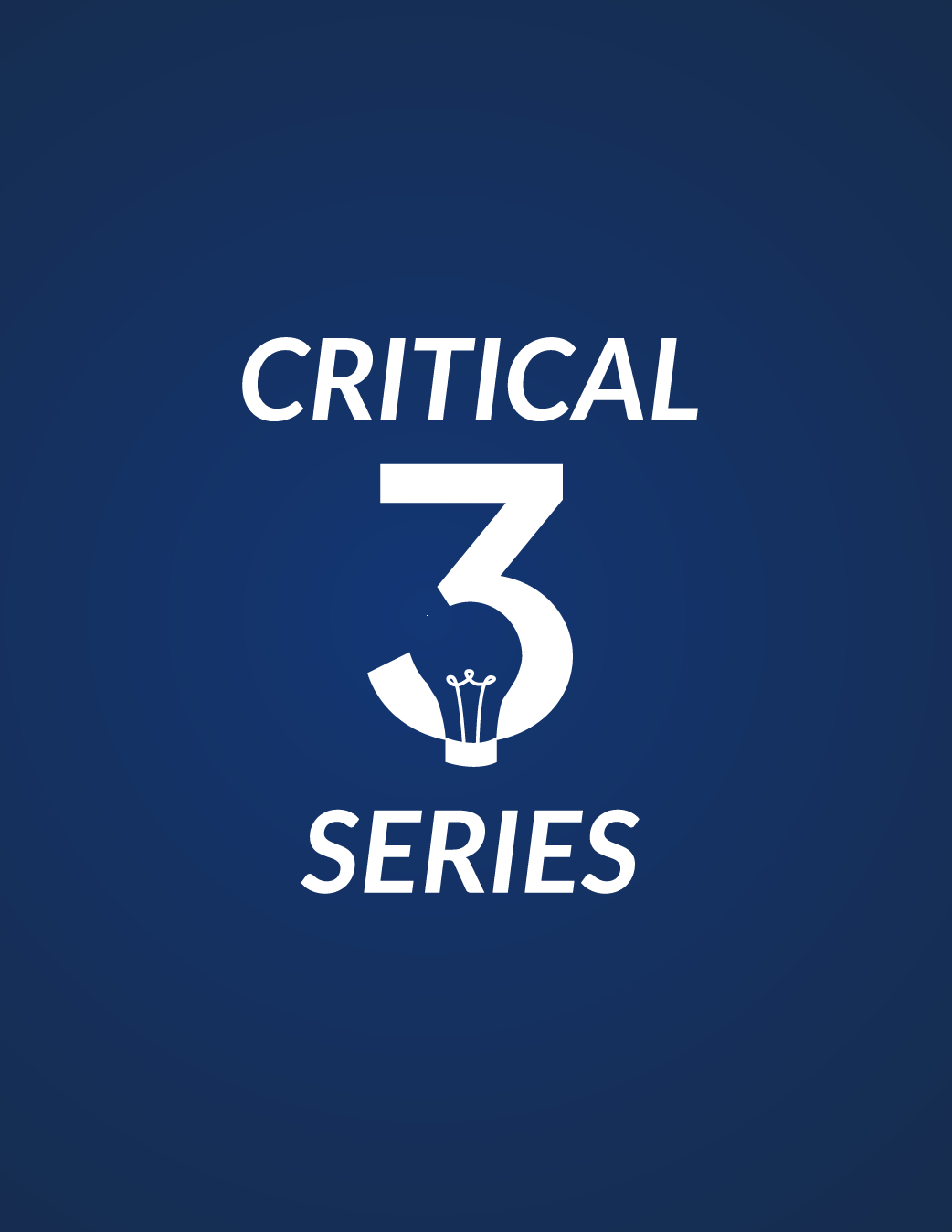 *Critical 3 - Maximizing your Training and Teaching